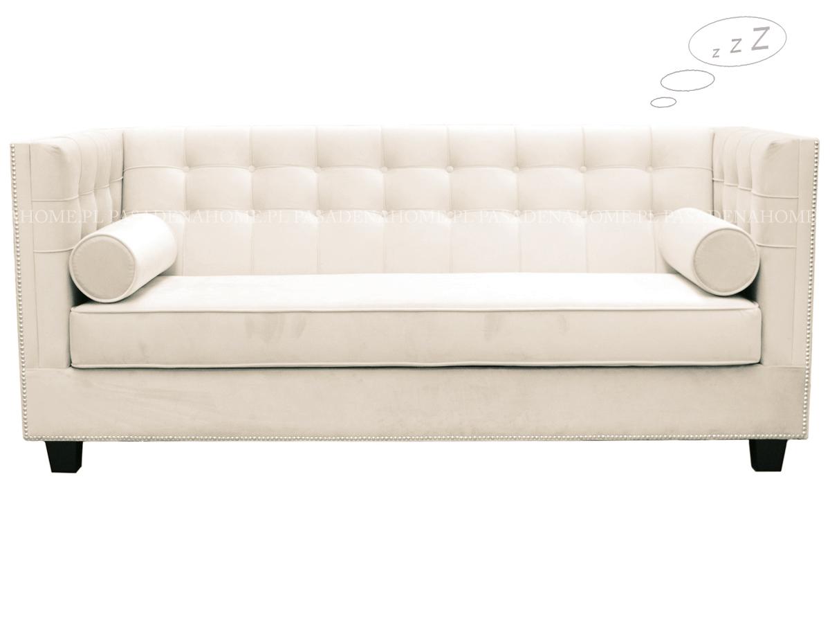 Sofa rozkładana Rockford pasuje do salonu w stylu nowoczesnym i nowojorskim. Sofy z funkcją spania i kanapy rozkładane na zamówienie.