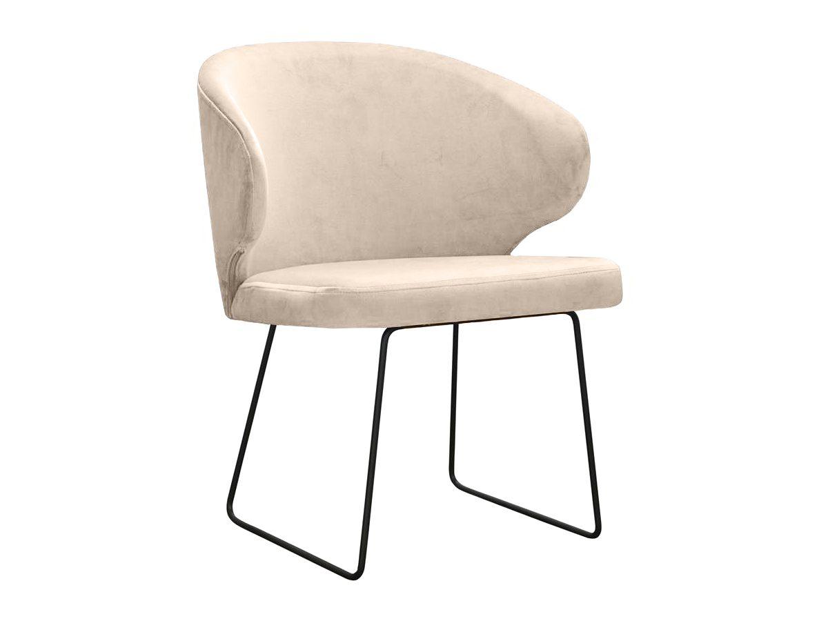 Krzesło nowoczesne Atena na metalowych nogach. Nowoczesne krzesła tapicerowane do jadalni są dostępne na zamówienie w showroomie Pasadena home & deco.