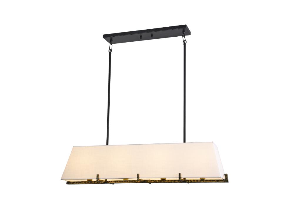 Lampa wisząca w stylu nowoczesnym Santiago. Lampa sufitowa Santiago znajdzie swoje zastosowanie jako lampa nad stół lub lampa do salonu.