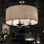 Lampa wisząca w stylu nowojorskim Spencer 1 biały.