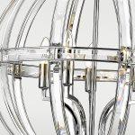 Lampa wisząca kula w stylu nowojorskim Wilson 3. Lampa wisząca w kształcie kuli Wilson to idealne oświetlenie do salonu. Doskonale sprawdzi się także jako lampa nad stół.