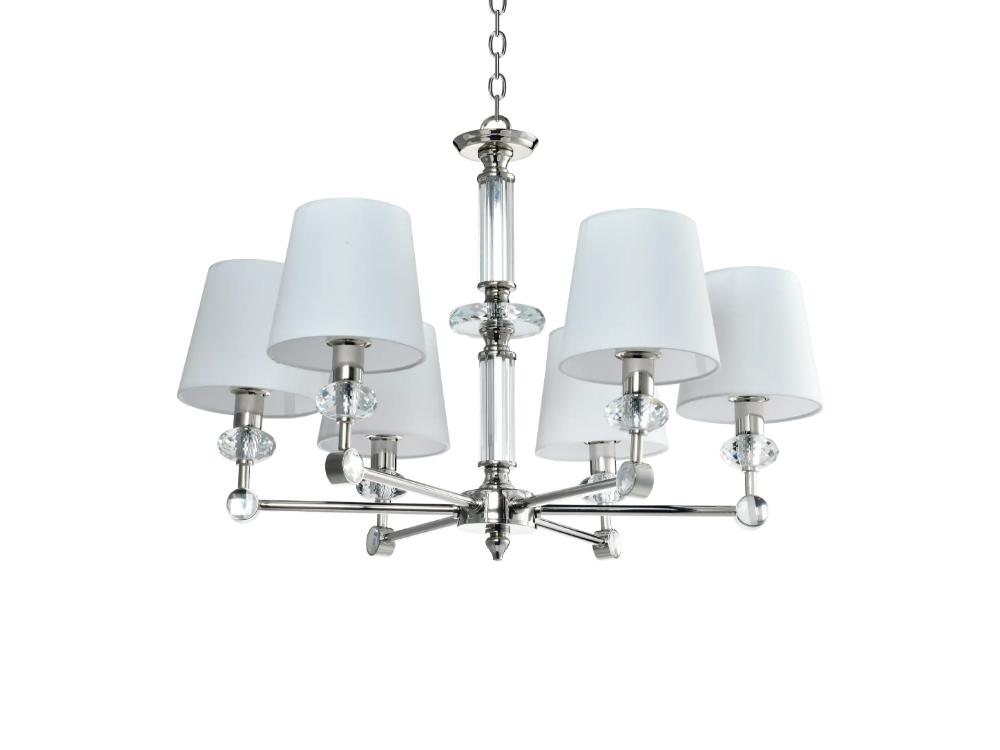 Lampa wisząca z abażurami w stylu nowojorskim Serafino.