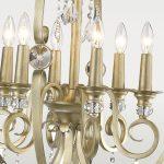 Lampa wisząca kula z kryształkami w stylu glamour Baltimore. Żyrandol kryształowy Baltimore znajdzie zastosowanie jako lampa nad stół lub lampa do salonu.