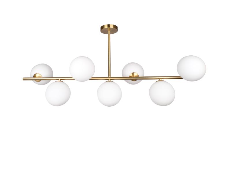 Lampa wisząca w stylu nowoczesnym Cartagena. Lampa sufitowa Cartagena znajdzie swoje zastosowanie jako lampa nad stół lub lampa do salonu.