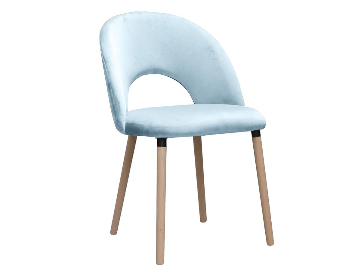 Krzesło nowoczesne Angus na drewnianych nogach. Nowoczesne krzesła tapicerowane do jadalni są dostępne na zamówienie w showroomie Pasadena home & deco.