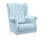 Nowoczesne krzesło Isabell do jadalni i salonu. Krzesła z czarnymi nogami są dostępne na zamówienie w showroomie Pasadena home & deco.