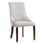 Krzesło tapicerowane Lady do wnętrz stylu nowoczesnym oraz modern classic. Krzesło tapicerowane z możliwością wyboru tkaniny.