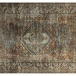 Dywan łatwoczyszczący z nadrukiem Persian Brown z kolekcji Magic Home Fargotex. Dywan do salonu i sypialni w stylu nowoczesnym i modern classic.