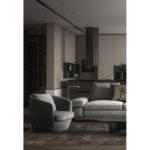 Dywan łatwoczyszczący drukowany Petra Wine z kolekcji Magic Home Fargotex. Dywan do salonu i sypialni w stylu nowoczesnym i modern classic.