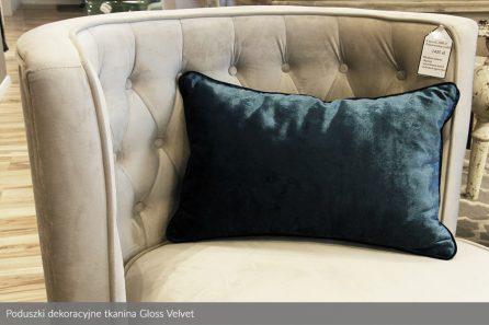 Usługa szycia poduszka dekoracyjna tkanina Gloss Velvet