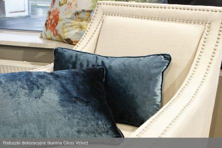 Usługa szycia poduszka dekoracyjna tkanina Gloss Velvet 2