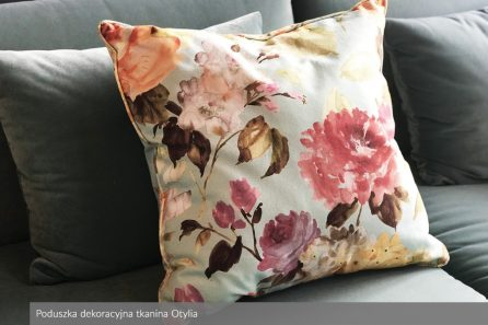 Usługa szycia poduszka dekoracyjna tkanina Otylia 1