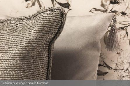 Usługa szycia poduszki dekoracyjnej na wymiar tkanina Marmaris 2