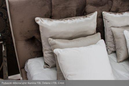 Usługa szycia poduszek dekoracyjnych na wymiar tkanina FBL Delano i FBL Crest 2