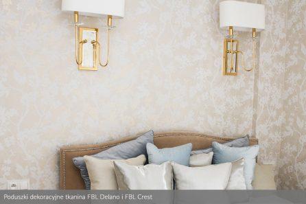 Usługa szycia poduszek dekoracyjnych na wymiar tkanina FBL Delano i FBL Crest 3