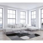 Dywan łatwoczyszczący Rene Grey z kolekcji Magic Home Fargotex. Dywan do salonu i sypialni w stylu nowoczesnym i modern classic.