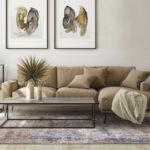 Dywan łatwoczyszczący Rustic Beigez kolekcji Magic Home Fargotex. Dywan do salonu i sypialni w stylu nowoczesnym i modern classic.