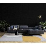Dywan łatwoczyszczący Silva Yellowz kolekcji Magic Home Fargotex. Dywan do salonu i sypialni w stylu nowoczesnym i modern classic.