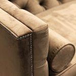 Sofa tapicerowana w stylu nowojorskim Kris