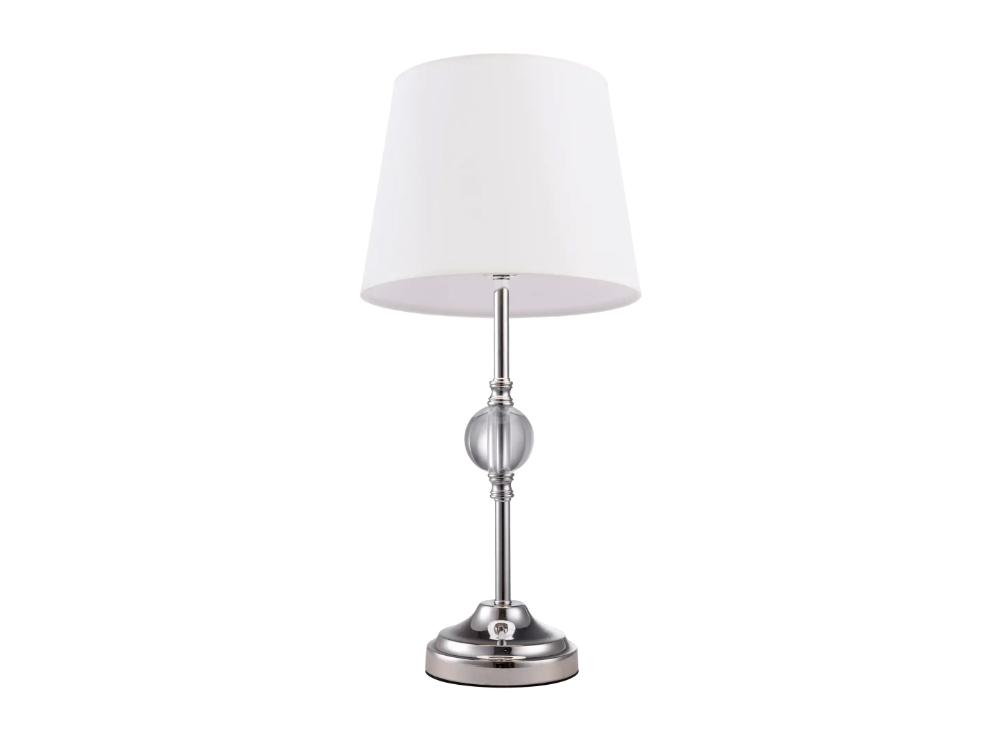 Lampa stołowa Ellen 3 z abażurem w stylu nowojorskim.