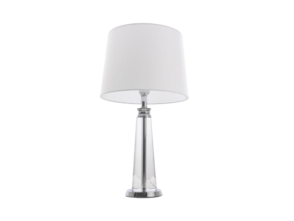 Lampa stołowa w stylu nowojorskim Cardiff. Lampy stołowe z abażurem są dostępne na zamówienie w showroomie Pasadena home & deco.