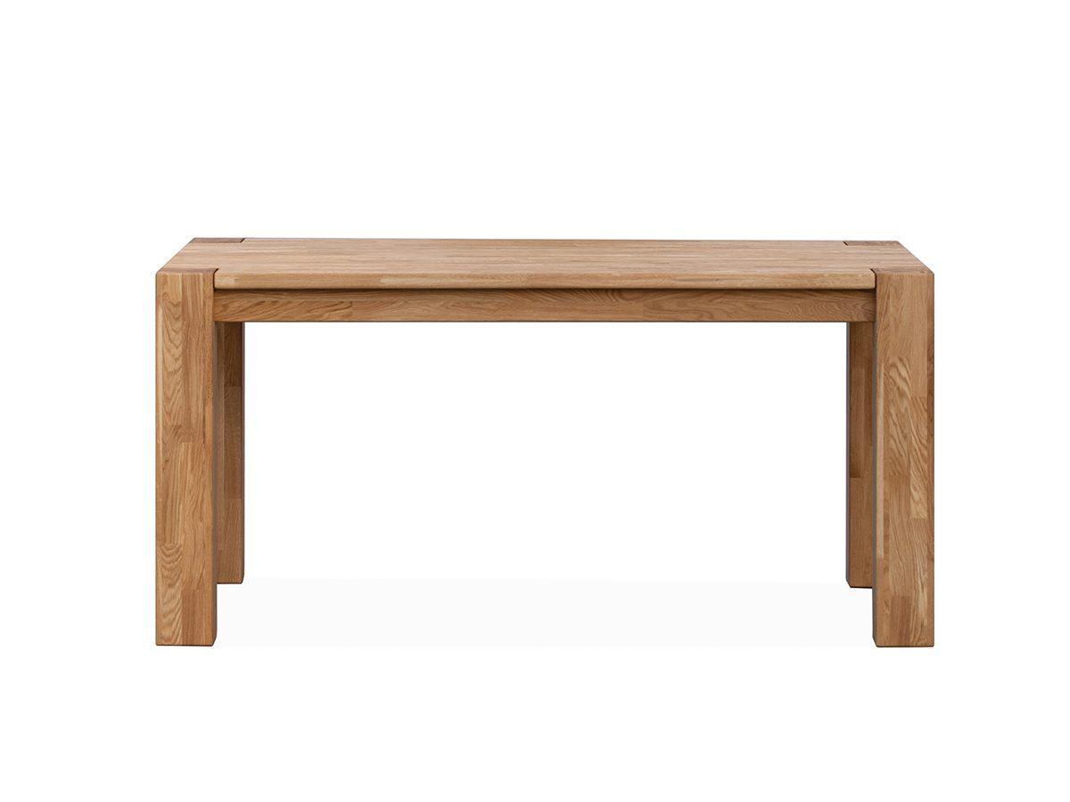 Drewniany stół rozkładany Ikar o ciekawej formie dostępny w dwóch rozmiarach. Prostokątny stół do kuchni i jadalni w stylu nowoczesnym lub klasycznym.