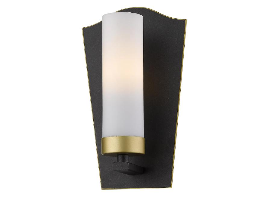 Kinkiet w stylu loft Arizona tworzy piękne oświetlenie salonu lub przedpokoju. Polecany także jako kinkiet nad lustro do łazienki.