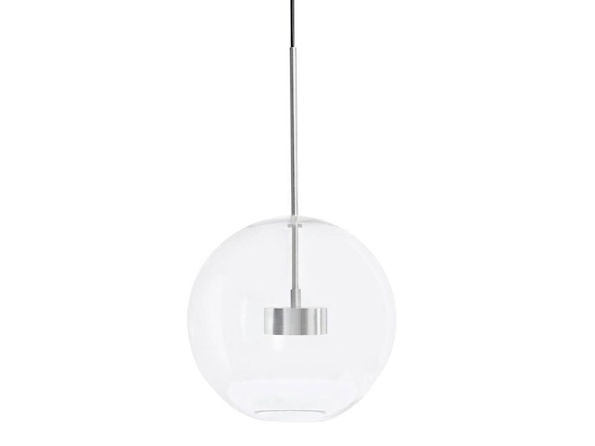 Lampa wisząca srebrna kula Bulle inspirowana projektem Bubble Chandelier.Lampa sufitowa do salonu i jadalni w stylu nowoczesnym.