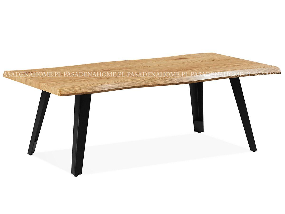 Nowoczesny stolik kawowy Paulo. Stolik wykonany z MDF w kolorze dębu. Ława kawowa Paulo pasuje do salonu w stylu nowoczesnym.