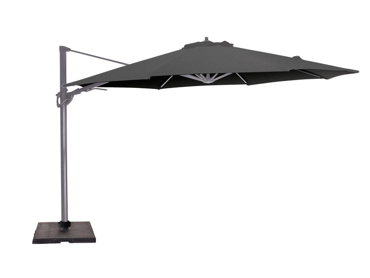 Parasol ogrodowy obrotowy Priscilla osadzony na solidnej, aluminiowej nodze.Parasol do ogrodu i na taras będzie idealnym uzupełnieniem letniej aranżacji.