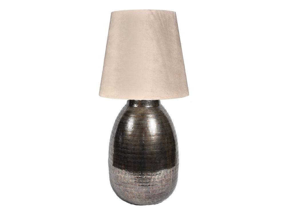 Lampa stołowa z kolekcji lamp szerokich Deluxe. Idealny dodatek do sypialni oraz salonuw stylu vintage.