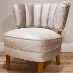 Renowacja fotela tapicerowanego z lat 60′