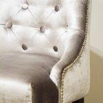Hoker stołek barowy tapicerowany styl nowojorski Lady