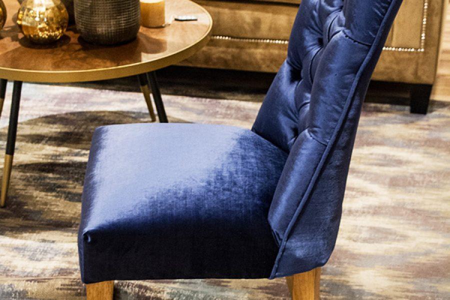 Krzesło tapicerowane styl hamptons Harry