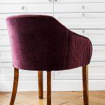 Krzesło tapicerowane styl glamour Coco