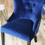Krzesło tapicerowane w stylu nowojorskim Royal