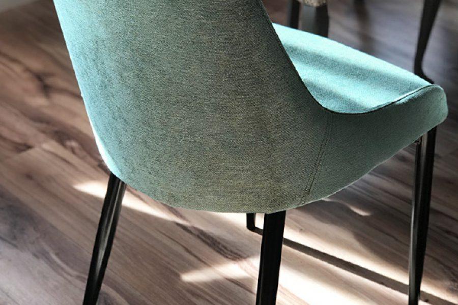 Krzesło tapicerowane nowoczesne Massimo mieszkanie Białystok w tkaninie obiciowej Cameleon