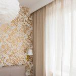 Zasłony w sypialni z lnianej tkaniny Seila