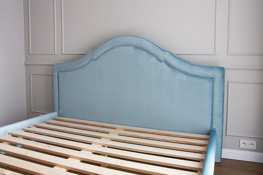 Łóżko tapicerowane styl nowojorski Henderson dom Białystok.