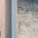 Panele tapicerowane ze srebrną listwą – Onyx 602