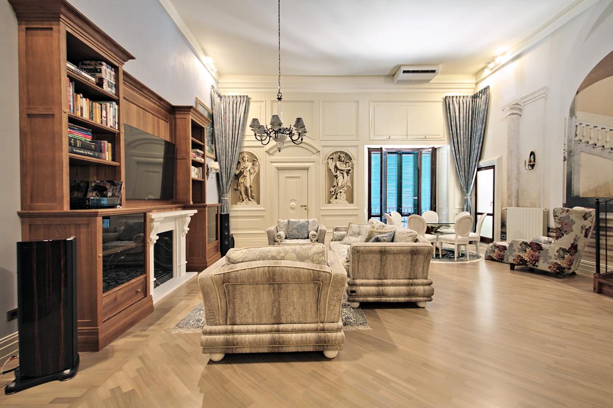 Włoski luksusowy apartament w stylu klasycznym – realizacja Piombino 2019