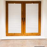 Rolety plisowane na wymiar montowane w ramie okiennej