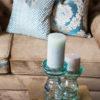 Poduszki dekoracyjne z tkanin Onyx w różnych wzorach i kolorach szyte na zamówienie. Miętowe poduszki dekoracyjne o różnych strukturach.
