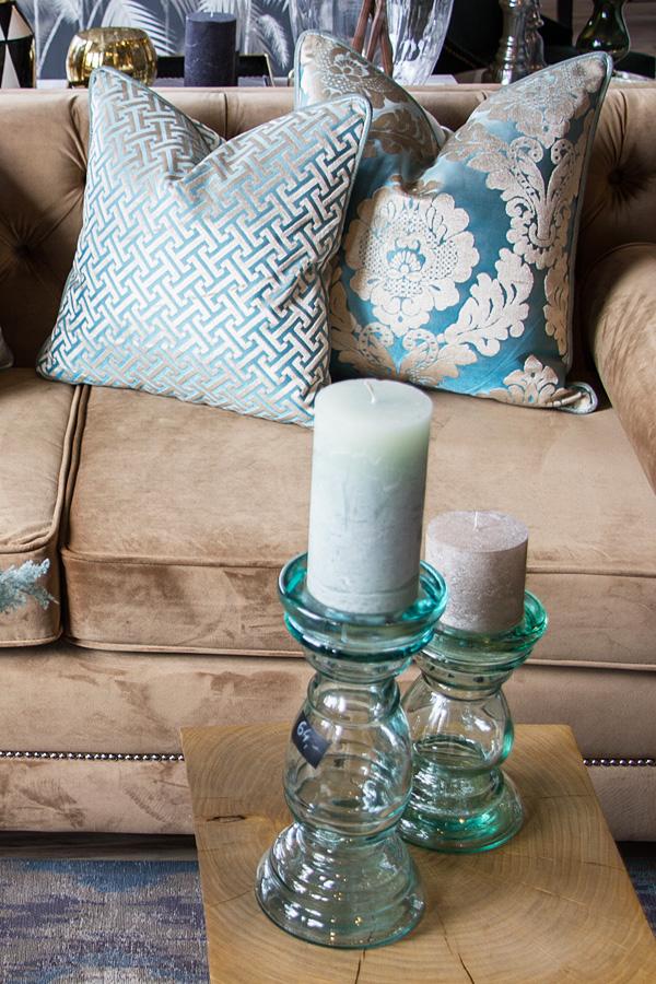 Poduszki dekoracyjne z tkanin Onyx