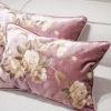 Usługa szycia poduszki na wymiar z wypełnieniem i lamówką 30x50 cm