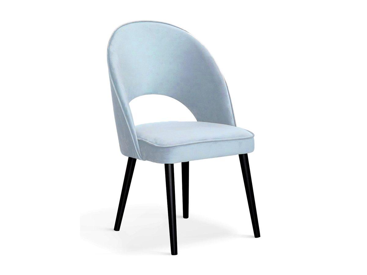 Krzesło tapicerowane aksamitem Jasmine II.Przedstawione modele to krzesło różowe, błękitne oraz szare. Krzesło do nowoczesnego salonu oraz jadalni.