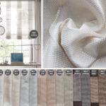 Tkanina zasłonowa nowoczesna Magnumo wyraźnym splocie i delikatnym połysku. Tkanina na zasłony Magnum pasuje do salonu w stylu nowoczesnym i nowojorskim.