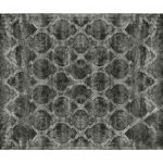 Dywan z wiskozy ręcznie tkany Tanger Dark Gray. Ekskluzywna kolekcja, stworzona z naturalnych materiałów takich jak wiskoza, wełna i bawełna.