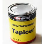 Klej tapicerski do tkanin Tapicer puszka podsufitka - 0,8l