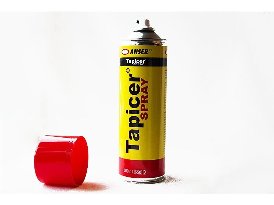 Klej tapicerski do tkanin Tapicer spray aerozol podsufitka - 0,5l